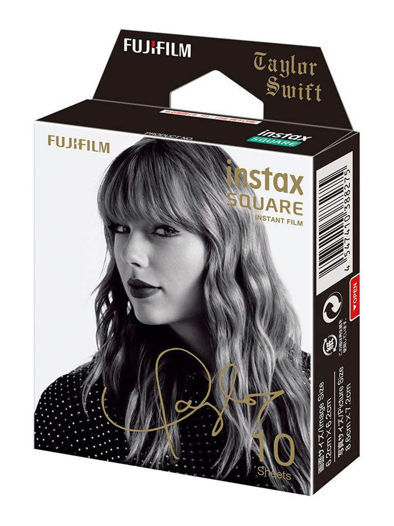Fujifilm Colorfilm Instax Square Film Taylor Swift Limited Edition для SQ6/SQ10/SQ20/Instax Share SP-3 16601820