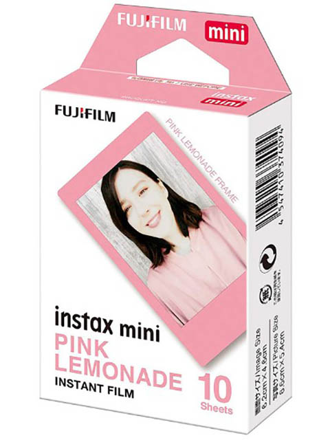 Фото - Fujifilm Colorfilm Instax Mini Pink Lemonade 10/1PK 8.6x5.4cm 16581836 fujifilm instax mini monochrome ww 1