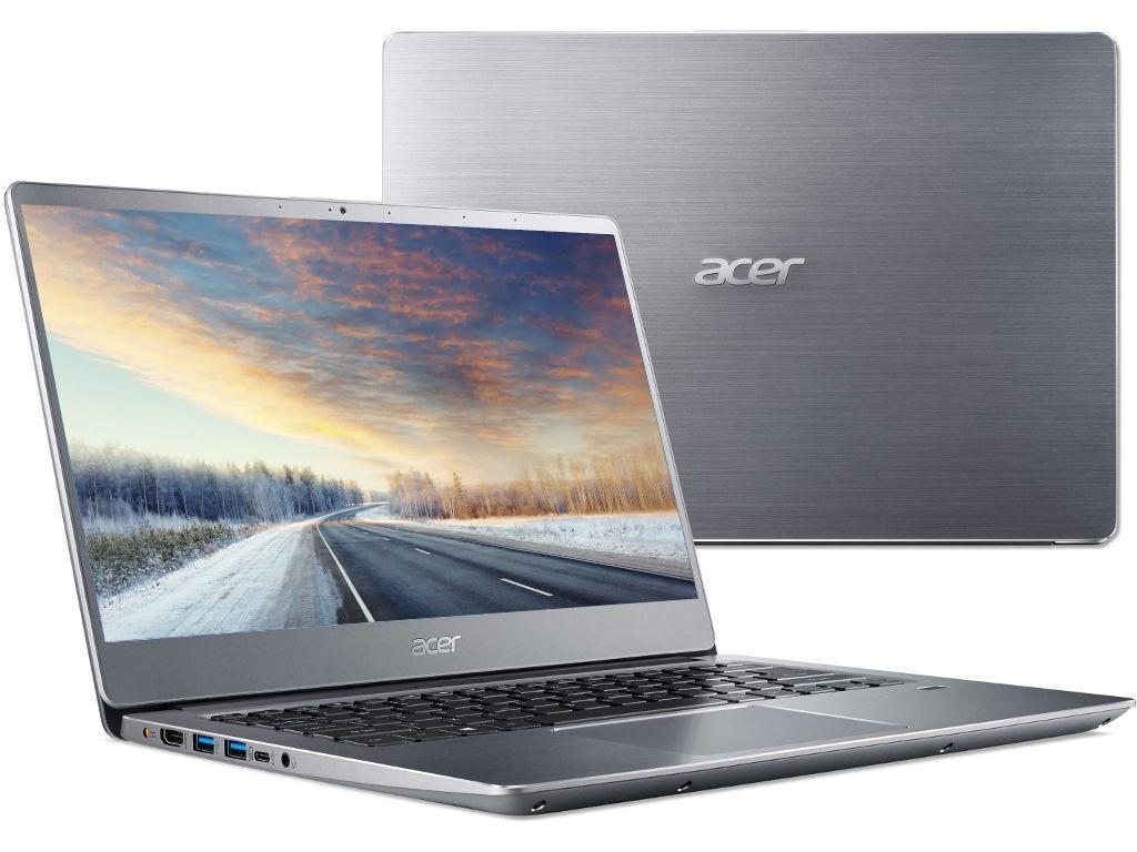 Ноутбук Acer Swift 3 SF314-56-5403 Silver NX.H4CER.004 (Intel Core i5-8265U 1.6 GHz/8192Mb/256Gb SSD/No ODD/Intel HD Graphics/Wi-Fi/Bluetooth/Cam/14.0/1920x1080/Linux)