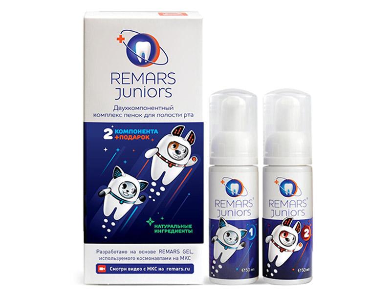 Реминерализирующая пенка для полости рта Remars Juniors