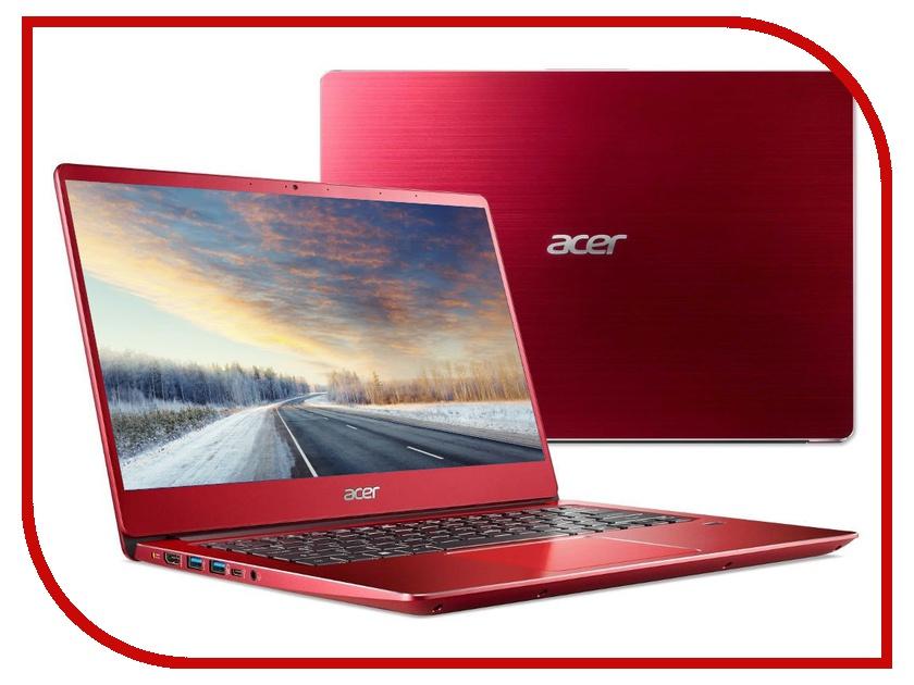 Ноутбук Acer Swift 3 SF314-56-72NG Red NX.H4JER.003 (Intel Core i7-8565U 1.8 GHz/8192Mb/256Gb SSD/No ODD/Intel HD Graphics/Wi-Fi/Bluetooth/Cam/14.0/1920x1080/Linux) цена