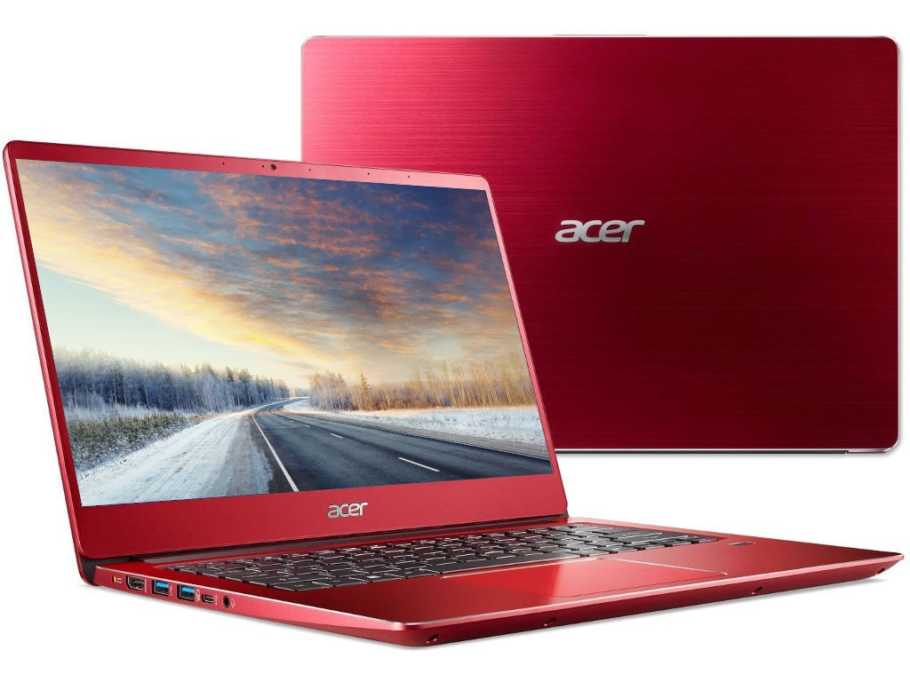 Ноутбук Acer Swift 3 SF314-56-72NG Red NX.H4JER.003 (Intel Core i7-8565U 1.8 GHz/8192Mb/256Gb SSD/No ODD/Intel HD Graphics/Wi-Fi/Bluetooth/Cam/14.0/1920x1080/Linux)