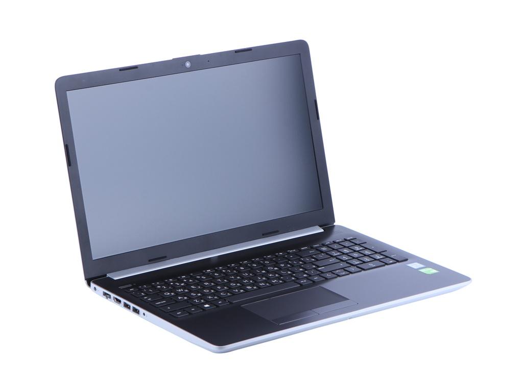 Ноутбук HP HP15-da1025ur Silver 5SV07EA (Intel Core i7 8565U 1.8 GHz/12288Mb/256Gb SSD/No ODD/GeForce MX130 4096Mb/Wi-Fi/Bluetooth/Cam/15.6/1920x1080/Windows 10)