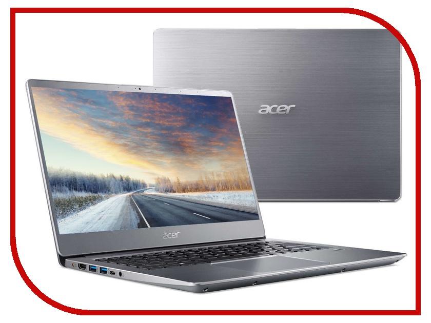 Ноутбук Acer Swift 3 SF314-56-7716 Silver NX.H4CER.001 (Intel Core i7-8565U 1.8 GHz/8192Mb/256Gb SSD/No ODD/Intel HD Graphics/Wi-Fi/Bluetooth/Cam/14.0/1920x1080/Linux) цена