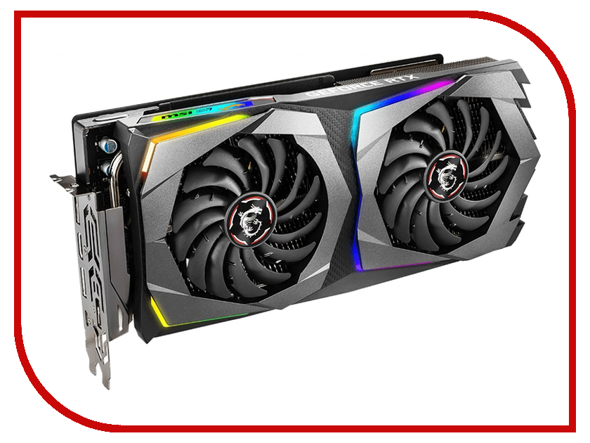 Видеокарта MSI GeForce RTX 2070 1710Mhz PCI-E 3.0 8192Mb 14000Mhz 256 bit USB-C HDMI 3xDP RTX 2070 GAMING X 8G e blue ems618 wired gaming mouse white