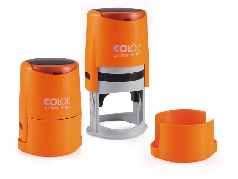 Оснастка для круглой печати Colop Printer R40 Neon d-40mm Orange