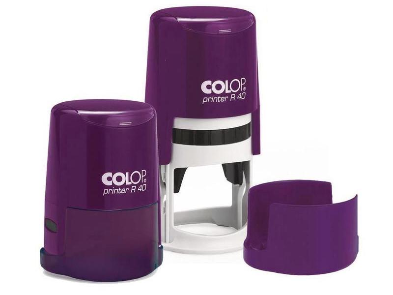 Оснастка для круглой печати Colop Printer R40 d-40mm Violet 520395