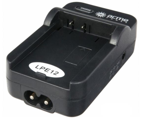 цена на Зарядное устройство AcmePower AP CH-P1640 for Canon LP-E12 (Авто+сетевой)