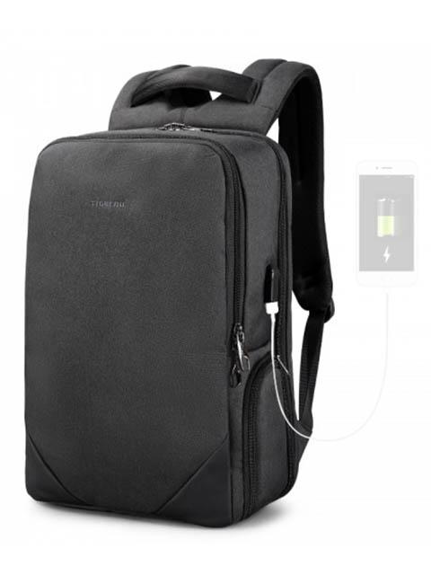 цена Рюкзак Tigernu T-B3601 Dark Grey онлайн в 2017 году