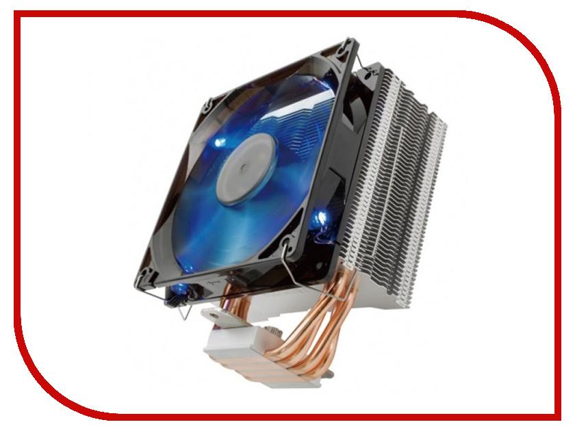 Кулер Reeven E12 Blue Led RC-1208LB (115x/1366/2011-v3/2066/AM2+/AM3+/ FM1/FM2+/AM4) кулер reeven e12 rgb led rc 1208rgb