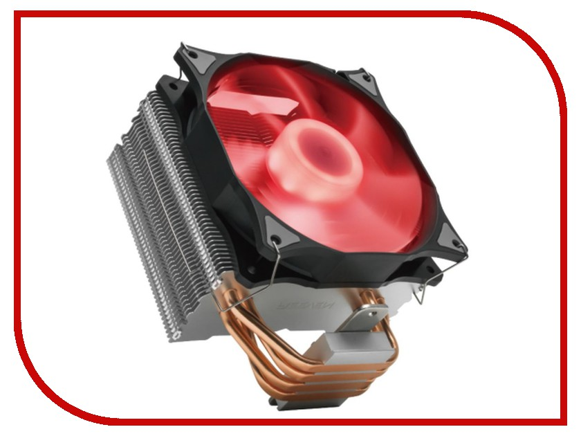 Кулер Reeven E12 RED Led RC-1208LR кулер reeven e12 rgb led rc 1208rgb