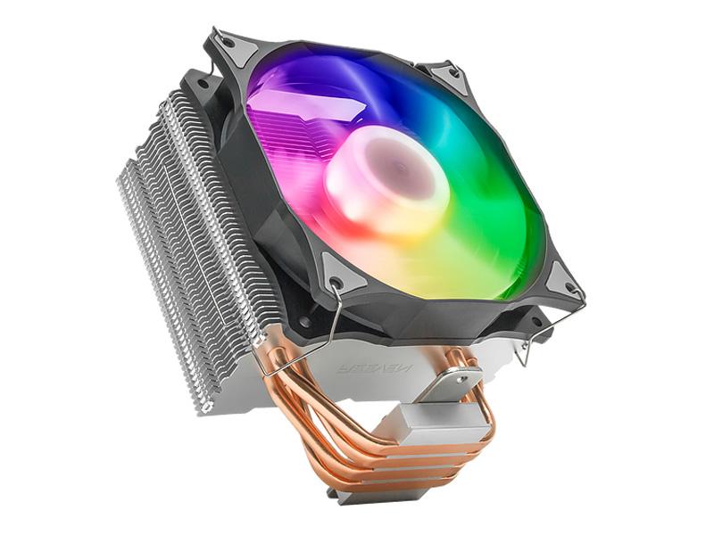 Кулер Reeven E12 RGB Led RC-1208RGB