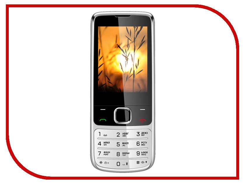 Фото - Сотовый телефон Vertex D545 Steel Metal сотовый телефон vertex d527 black