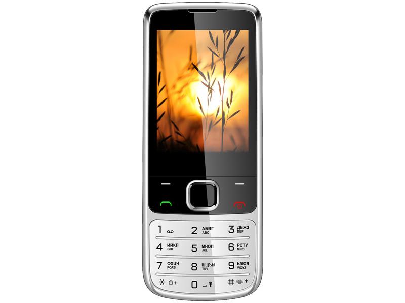Сотовый телефон Vertex D545 Steel Metal