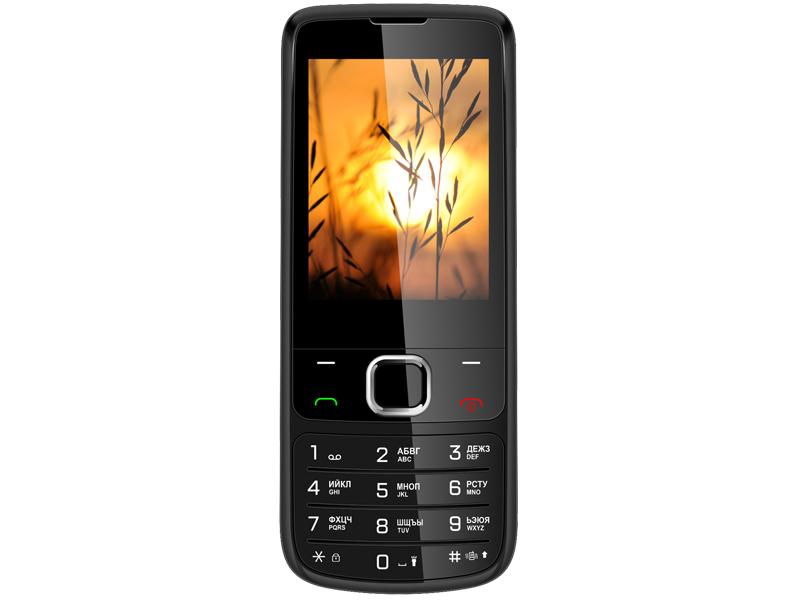 Сотовый телефон Vertex D545 Black Metal vertex cзу vertex slim line 2 usb 3 1a black