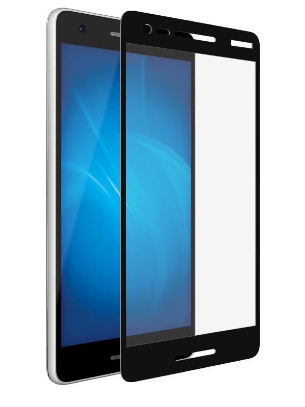 Аксессуар Защитное стекло Mobius для Nokia 2.1 3D Full Cover Black 4232-245