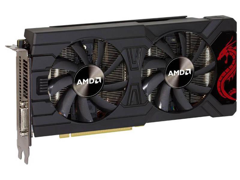 Видеокарта PowerColor Radeon RX 570 1105Mhz PCI-E 3.0 8192Mb 7800Mhz 256 bit DVI HDMI HDCP AXRX 8GBD5-DM
