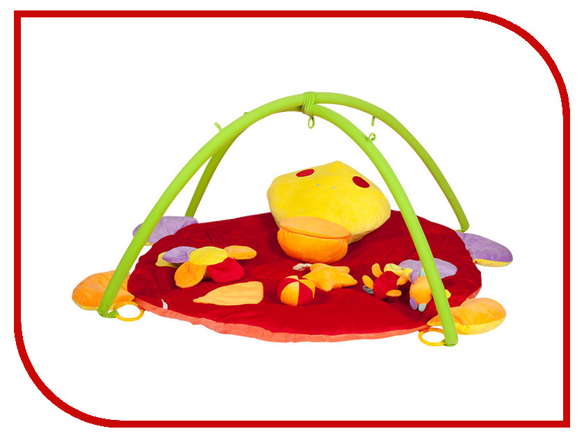 Развивающий коврик Mioshi Tech Удивительный мир (MIO0302-040) игрушка mioshi tech waterjet yellow mte1201 034