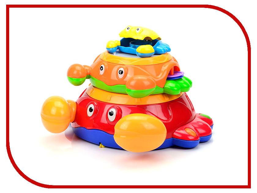 Игрушка Mioshi Baby Крабики MBA0303-001 развивающая игрушка mioshi baby гусеничка