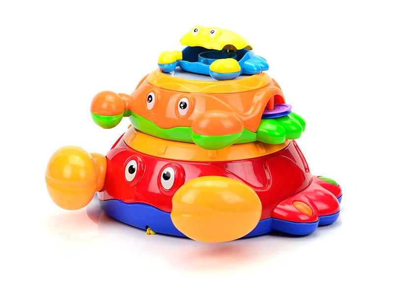 Игрушка Mioshi Baby Крабики MBA0303-001 цены онлайн