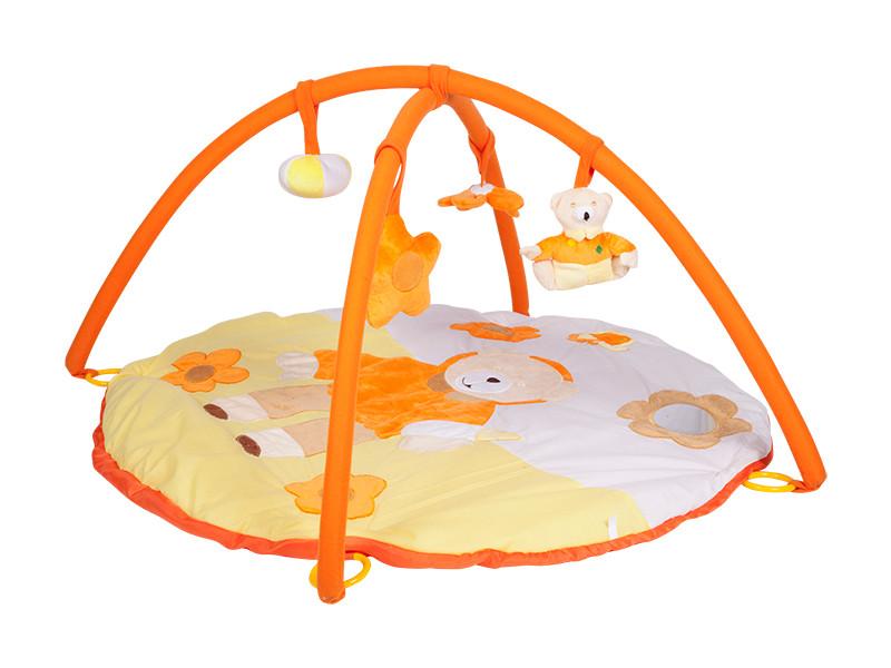 Развивающий коврик Mioshi Tech Мягкий медвежонок (MIO0302-038) цены онлайн