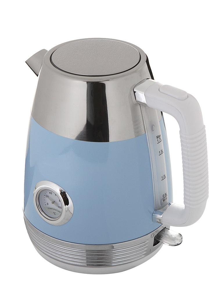 все цены на Чайник Kitfort KT-633-4 Light Blue онлайн