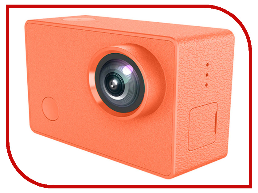 Экшн-камера Xiaomi Seabird 4K Orange экшн камера drift ghost 4k