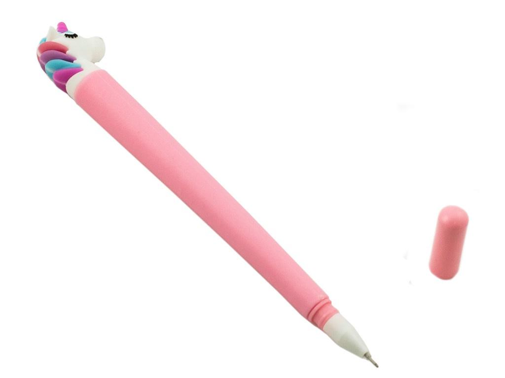 Ручка Эврика Единорог Pink 99194