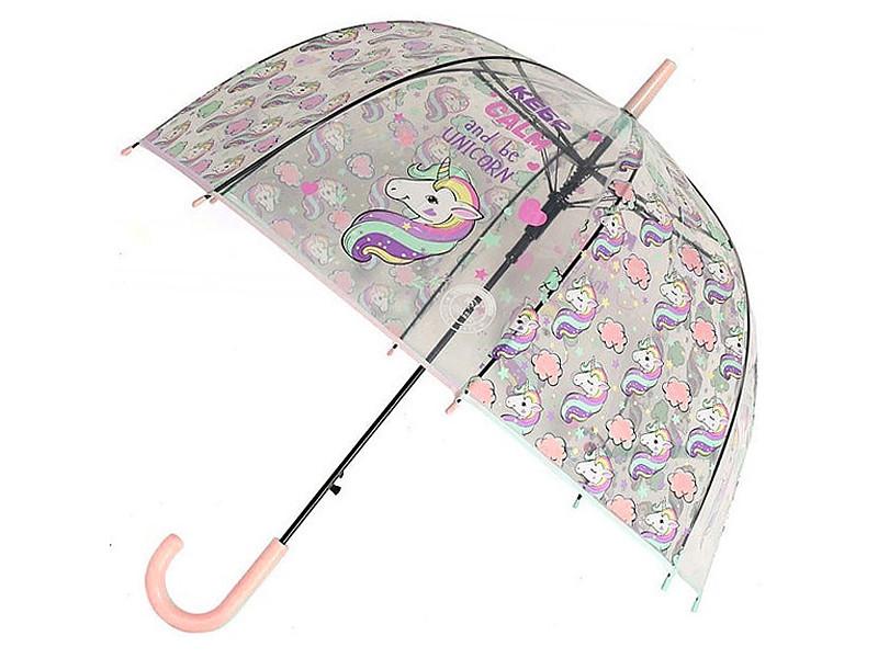 Зонт Эврика Единорог №6 Pink 99259