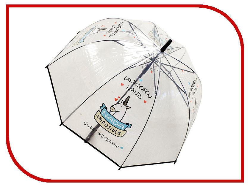 Зонт Эврика Единорог №3 Black 99110