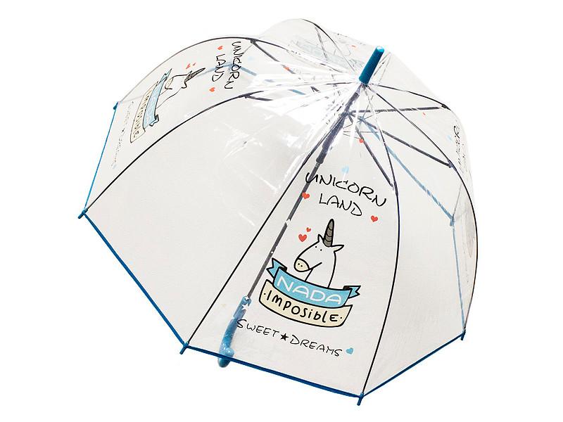 Зонт Эврика Единорог №1 Blue 99108