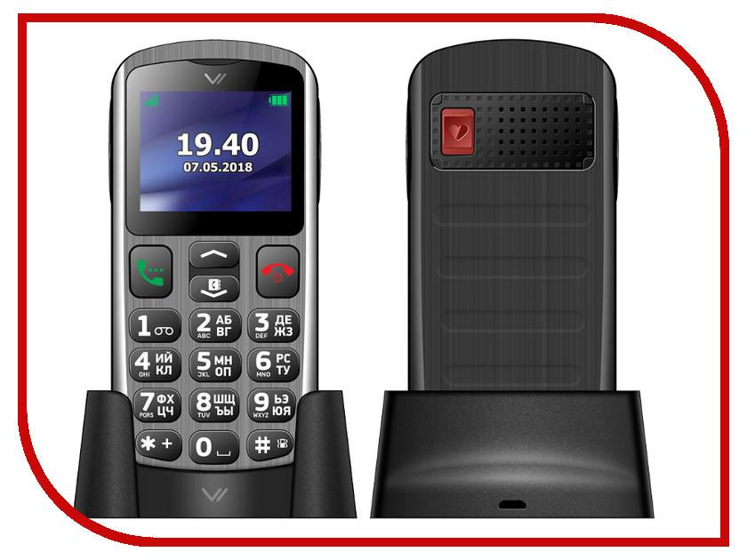 Сотовый телефон VERTEX C317 Silver-Black сотовый телефон vertex c308 black