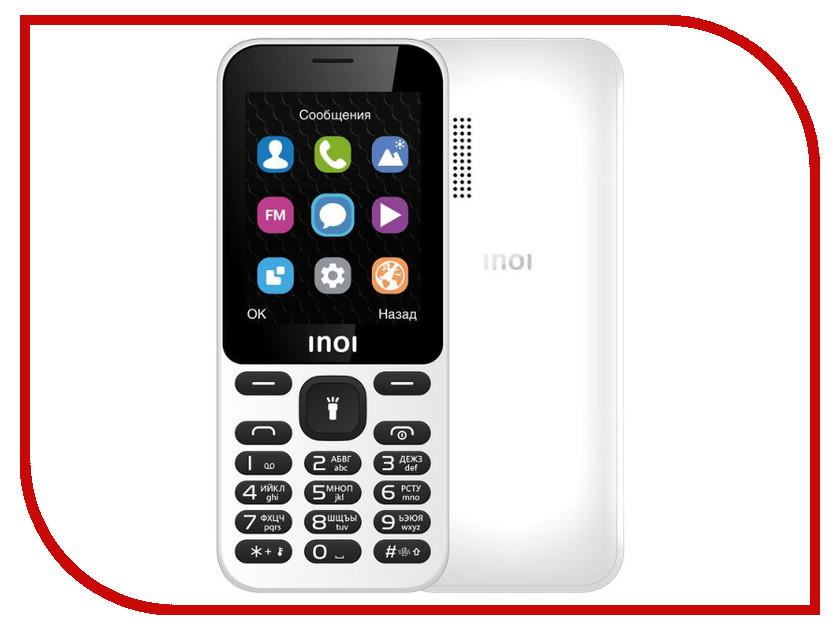 Сотовый телефон INOI 239 White сотовый телефон philips s386 navy