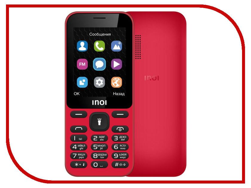 Фото - Сотовый телефон INOI 239 Red проводной и dect телефон foreign products vtech ds6671 3