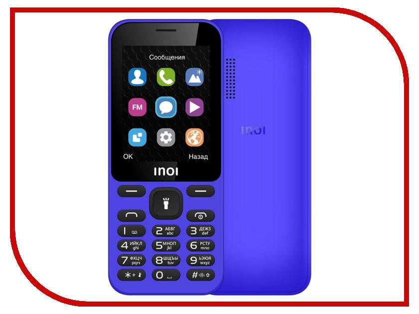 Фото - Сотовый телефон INOI 239 Blue проводной и dect телефон foreign products vtech ds6671 3