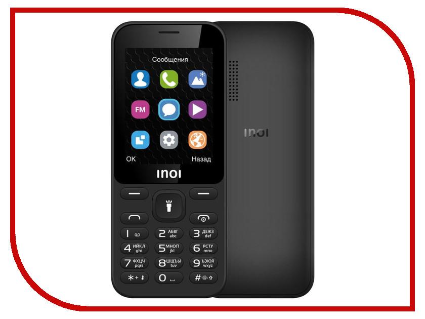 Сотовый телефон INOI 239 Black сотовый телефон elari cardphone black