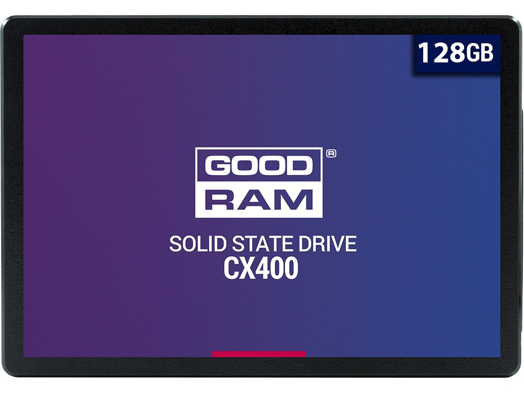 Жесткий диск GoodRAM SSD CX400 128Gb SSDPR-CX400-128