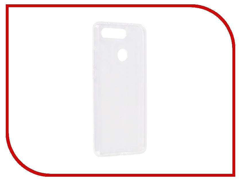 Чехол для Honor View 20 2019 Zibelino Ultra Thin Case Transparent ZUTC-HUA-V20-WHT moskii brand ultra thin pc protective case cover for htc desire 820