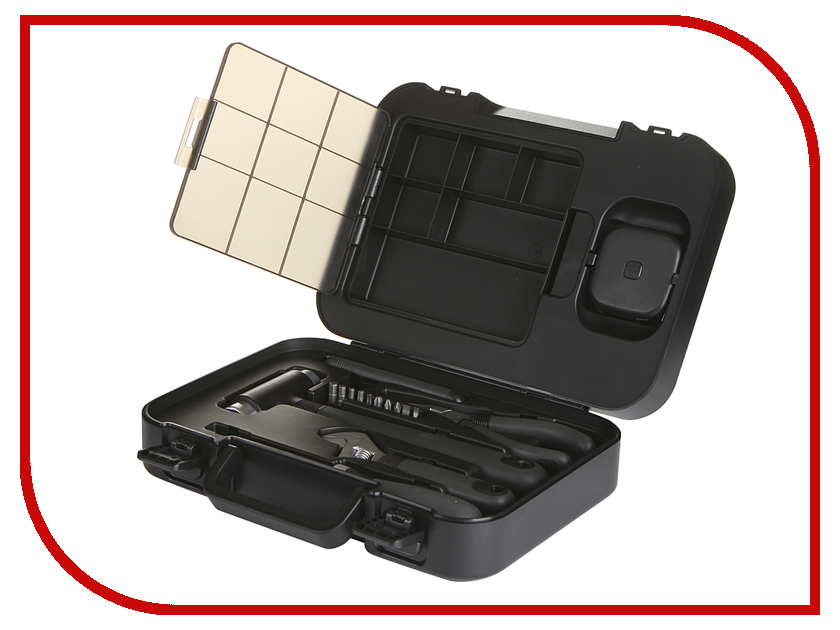 Набор инструмента Xiaomi Mi MIIIW Tool Storage Box 4 grid hollowed storage box