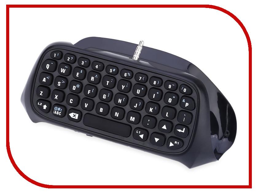 Клавиатура Dobe Keyboard Wireless TP4-008 Black для PS4 Controller basic