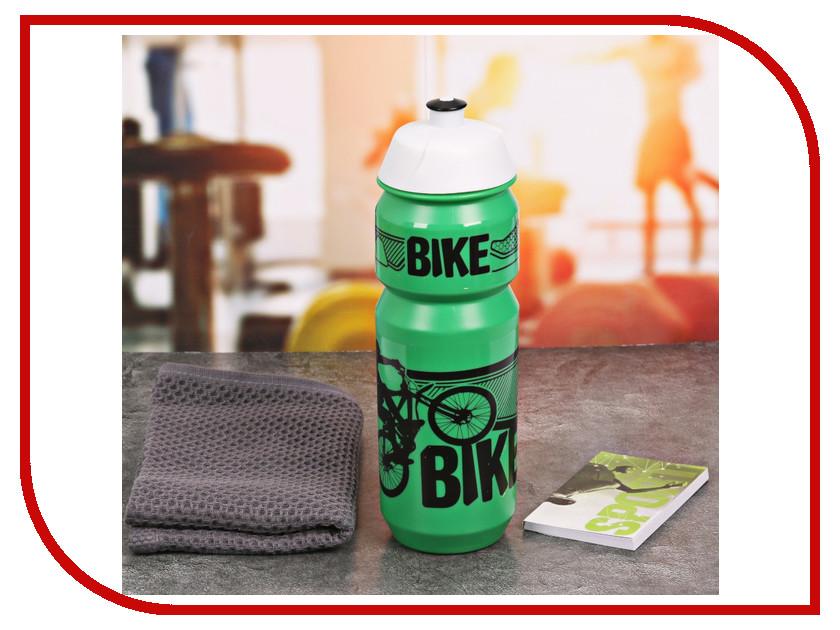Набор СИМА-ЛЕНД Bike - бутылка для воды 800ml + полотенце и блокнот 2588946 бутылка для воды mizu m8 800ml st blue light blue loop cap
