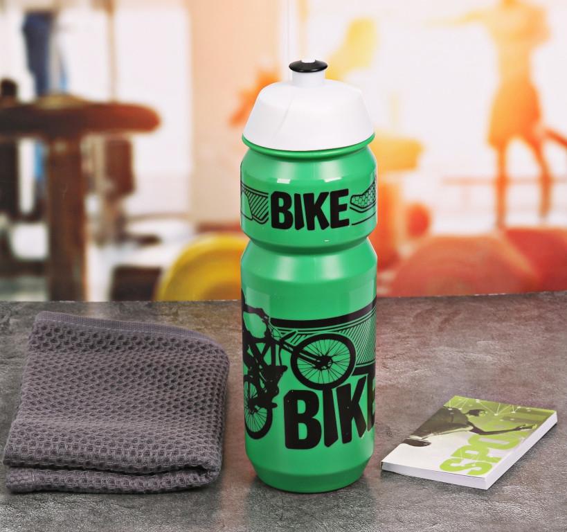 Набор СИМА-ЛЕНД Bike - бутылка для воды 800ml + полотенце и блокнот 2588946 блокнот luke james bike