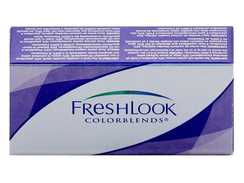 Контактные линзы Alcon FreshLook ColorBlends 2 (2 / 8.6 0) Gemstone Green