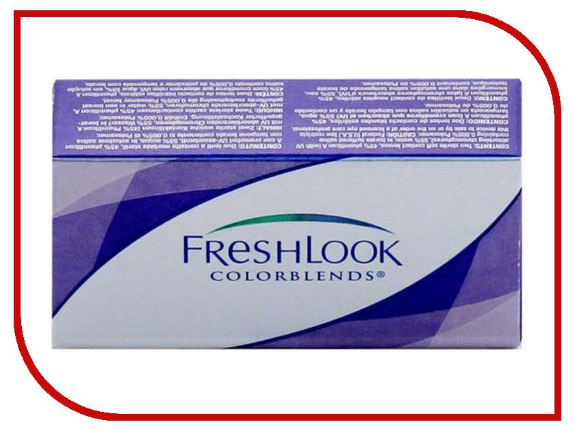 Контактные линзы Alcon FreshLook ColorBlends 2 (2 линзы / 8.6 / 0) True Sapphire