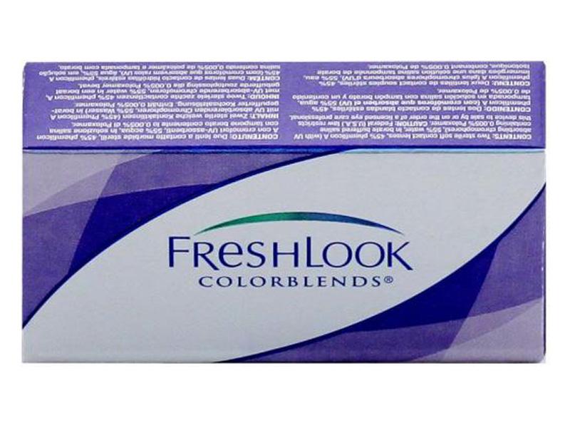 Контактные линзы Alcon FreshLook ColorBlends 2 (2 линзы / 8.6 / 0) True Sapphire контактные линзы alcon air optix aqua 6 шт r 8 6 d 04 50