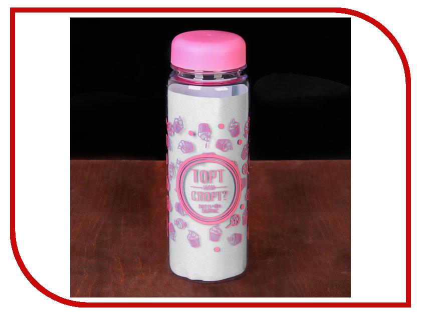 Бутылка СИМА-ЛЕНД Торт или спорт 500ml 2593433 кухонный набор сима ленд шеф повар хрюша 3505364