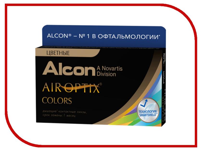 Контактные линзы Alcon Air Optix Colors 2 (2 линзы / 8.6 / 0) Blue