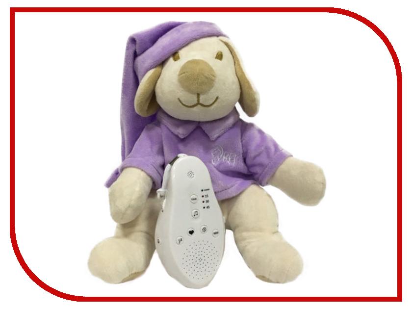 Игрушка Drema BabyDou 114 Собачка для сна с белым и розовым шумом Purple natassie women crystal clutches bags ladies evening bag female red purple party clutch wedding purse