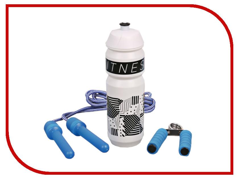Набор СИМА-ЛЕНД Fitness - бутылка для воды 900ml + скакалка и эспандер 2588954 цены онлайн