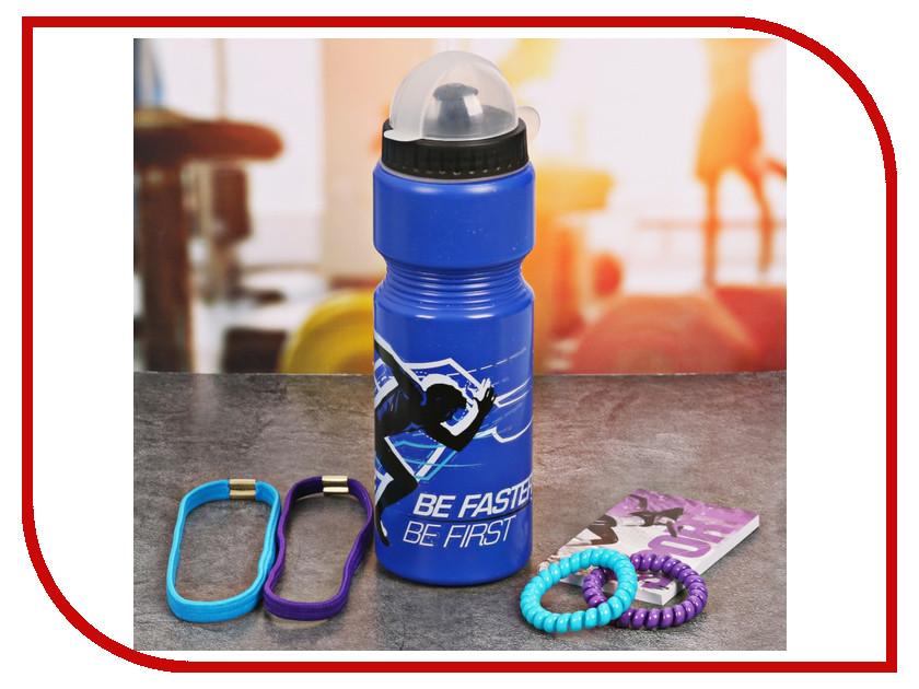 Набор СИМА-ЛЕНД Be First - бутылка для воды 800ml + повязка для волос 2шт. и блокнот 2588939 бутылка для воды mizu m8 800ml st blue light blue loop cap
